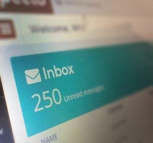 Inbox count